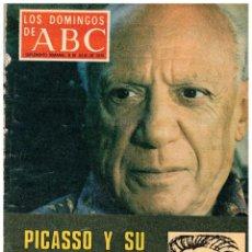 Coleccionismo de Los Domingos de ABC: 1979 LOS DOMINGOS DE ABC. PICASSO. TUNEZ. CASTILLOS DE ANDALUCIA. VER SUMARIO.. Lote 249080750
