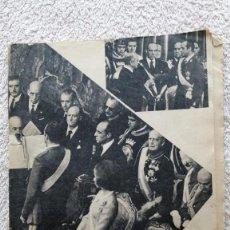 Coleccionismo de Los Domingos de ABC: ABC AYER COMENZO EL REINADO DE DON JUAN CARLOS I DE ESPAÑA HOY ENTIERRO FRANCO 23 NOV 1975 Nº 21730. Lote 252509950