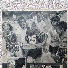 Colecionismo de Los Domingos de ABC: ABC MADRID 18 JULIO 1969 FIRST MAN ON THE MOON REHACIENDO MADRID. Lote 252510775