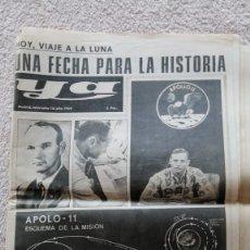 Colecionismo de Los Domingos de ABC: YA MADRID 16 JULIO 1969 HOY VIAJE A LA LUNA UNA FECHA PARA LA HISTORIA APOLO 11. Lote 252511630