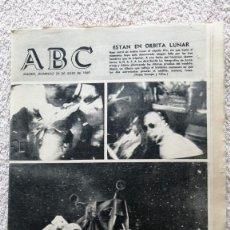 Colecionismo de Los Domingos de ABC: ABC MADRID 20 JULIO 1969 ESTAN EN ORBITA LUNAR Nº19760 APOLO XI. Lote 252513555