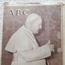 Coleccionismo de Los Domingos de ABC: ABC MADRID 4 JUNIO 1963 HA MUERTO EL PAPA Nº 17852. Lote 252514120