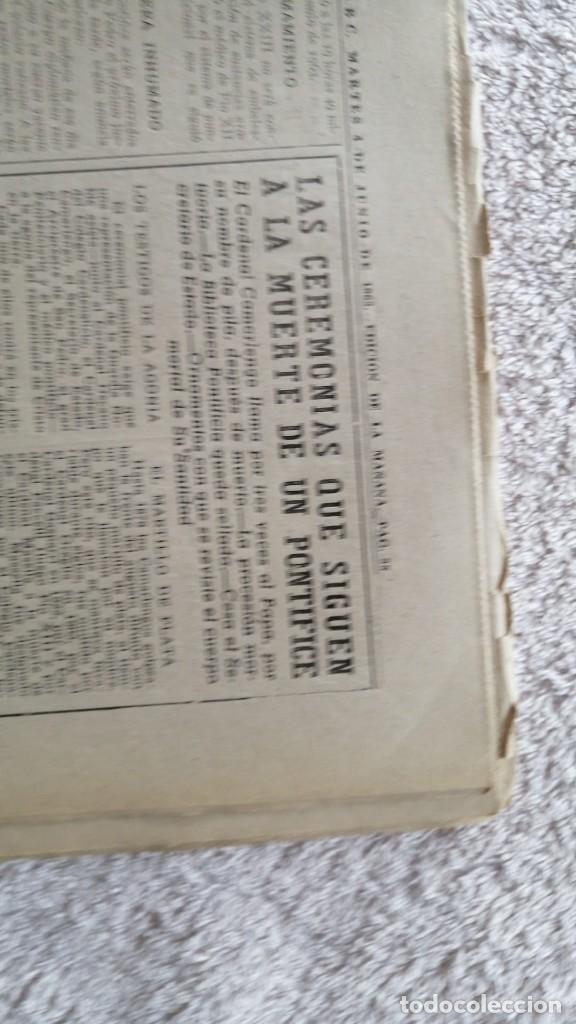 Coleccionismo de Los Domingos de ABC: ABC MADRID 4 JUNIO 1963 HA MUERTO EL PAPA Nº 17852 - Foto 2 - 252514120