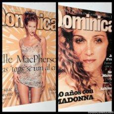 Coleccionismo de Los Domingos de ABC: LOTE REVISTAS EL DOMINICAL AÑOS 90. Lote 252759285