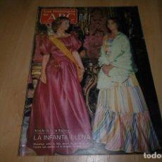 Coleccionismo de Los Domingos de ABC: LOS DOMINGOS DE ABC 1983. LA INFANTA ELENA.. Lote 254224210