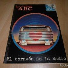 Coleccionismo de Los Domingos de ABC: LOS DOMINGOS DE ABC. 24 ENERO 1982. EL CORAZÓN DE LA RADIO. Lote 254225330