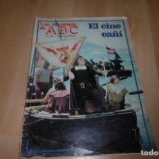 Coleccionismo de Los Domingos de ABC: LOS DOMINGOS DE ABC 23 MAYO 1982. EL CINE CAÑI. ANDRES PAJARES.. Lote 254227170