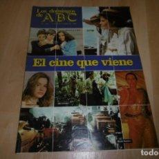Coleccionismo de Los Domingos de ABC: LOS DOMINGOS DE ABC Nº 749. 12 SEPTIEMBRE 1982. EL CINE QUE VIENE. Lote 254228835