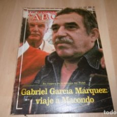 Coleccionismo de Los Domingos de ABC: LOS DOMINGOS DE ABC Nº 761. 5 DICIEMBRE 1982. GABRIEL GARCIA MARQUEZ: VIAJE A MACONDO. Lote 254229425