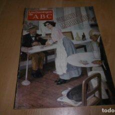 Coleccionismo de Los Domingos de ABC: LOS DOMINGOS DE ABC. 16 AGOSTO 1981. VERANEOS MADRILEÑOS. Lote 254231375