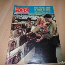 Coleccionismo de Los Domingos de ABC: LOS DOMINGOS DE ABC. 29 ABRIL 1979. GUIA PRACTICA PARA EL MUNDO DEL DISCO.. Lote 254269760