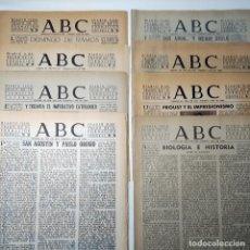 Coleccionismo de Los Domingos de ABC: ABC. 22 CUADERNILLOS DE INFORMACIÓN GRÁFICA DE LOS DOMINGOS, DE ENTRE 1955 Y 1957.. Lote 255968680