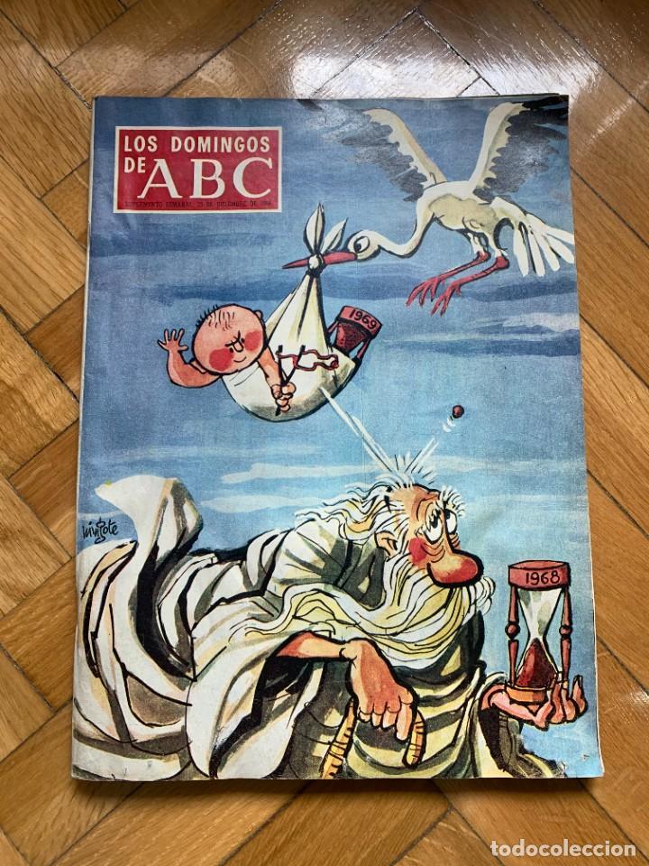 LOS DOMINGOS DE ABC - 29 DICIEMBRE 1968 (Coleccionismo - Revistas y Periódicos Modernos (a partir de 1.940) - Los Domingos de ABC)