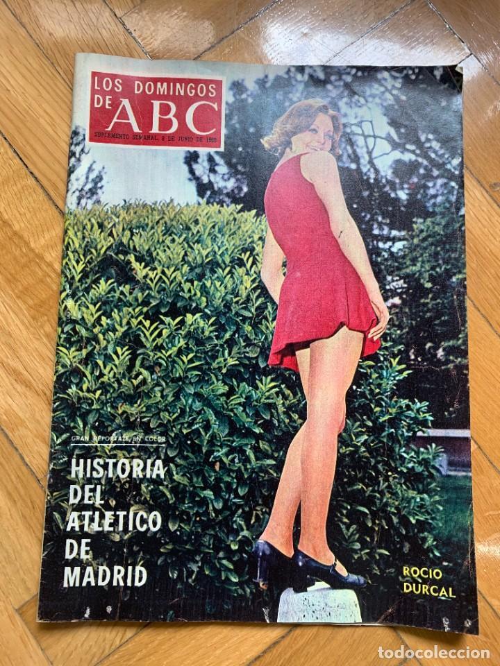 LOS DOMINGOS DEL ABC - 8 DE JUNIO DE 1969 - HISTORIA DEL ATLÉTICO DE MADRID (Coleccionismo - Revistas y Periódicos Modernos (a partir de 1.940) - Los Domingos de ABC)