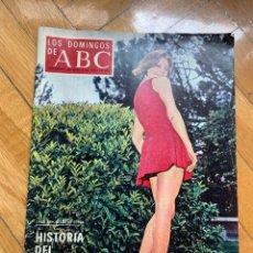 Coleccionismo de Los Domingos de ABC: LOS DOMINGOS DEL ABC - 8 DE JUNIO DE 1969 - HISTORIA DEL ATLÉTICO DE MADRID. Lote 256032010