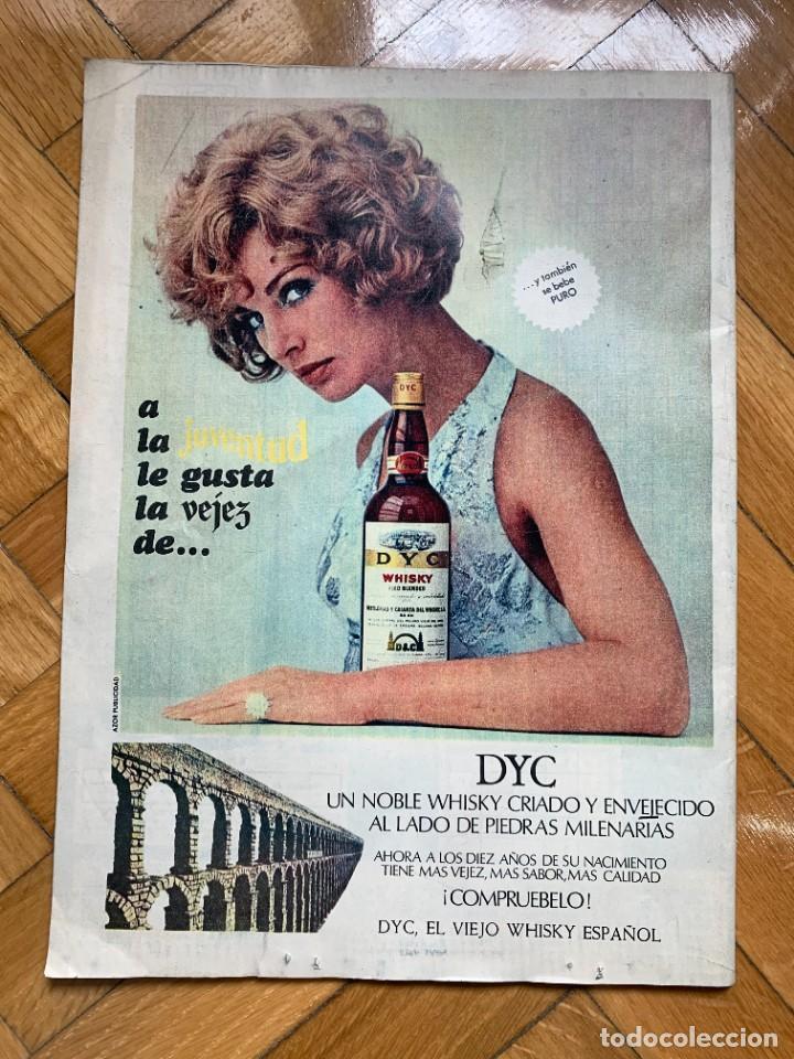 Coleccionismo de Los Domingos de ABC: LOS DOMINGOS DEL ABC - 8 DE JUNIO DE 1969 - Historia del Atlético de Madrid - Foto 2 - 256032010