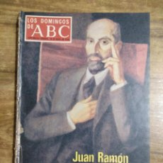 Coleccionismo de Los Domingos de ABC: MFF.- LOS DOMINGOS DE ABC.- 28 MAYO 1978.- JUAN RAMON JIMENEZ, ANDALUZ UNIVERSAL, VEINTE AÑOS. Lote 257719460