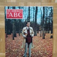 Coleccionismo de Los Domingos de ABC: LOS DOMINGOS DE ABC. JULIO IGLESIAS. SITGES. ISMAEL MERLO. MARI CARMEN YEPES. Lote 262549810