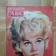 Coleccionismo de Los Domingos de ABC: REVISTA LOS DOMINGOS DE ABC. JANE FONDA. EL ESCORIAL Y LEPANTO RENAULT 12S MARIA MAHOR. JUAN SERRANO. Lote 262569085