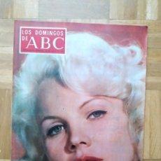 Coleccionismo de Los Domingos de ABC: LOS DOMINGOS DE ABC. CARROL BAKER. JOSE MARIA PEMAN. TERESA RABAL. CALVO SOTELO. NUÑEZ. Lote 262699385