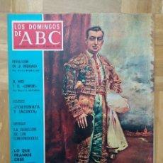 Coleccionismo de Los Domingos de ABC: REVISTA LOS DOMINGOS DE ABC. JOSELITO LA GLORIA DEL TOREO. MINGOTE. FRANK SINATRA. VER. Lote 262699955