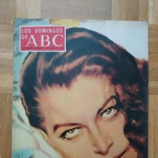 Coleccionismo de Los Domingos de ABC: REVISTA LOS DOMINGO DE ABC. AVA GARDNER. CARMEN SEVILLA. ARTURO FERNANDEZ ATHLETIC DE BILBAO MINGOTE. Lote 262703090