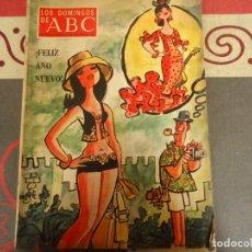 Coleccionismo de Los Domingos de ABC: LOS DOMINGOS DE ABC, EXTRA FELIZ AÑO NUEVO 1972. Lote 264489214