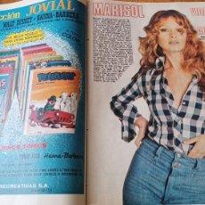 Coleccionismo de Los Domingos de ABC: MARISOL VIDA DE UNA ACTRIZ , REPORTAJE 10 PÁGINAS 22 FOTOS. LOS DOMINGOS DE ABC 30 DE DICIEMBRE 1973. Lote 264823054