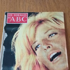 Coleccionismo de Los Domingos de ABC: LOS DOMINGOS DE ABC 1973. PEMAN , ANTE EL MITO DE EDIPO- GADHAFI Y LAS MUJERES ARABES - MÓNICA VITTI. Lote 265200824