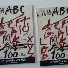 Coleccionismo de Los Domingos de ABC: (SEVILLA) ABC, EL PERDIODICO DEL SIGLO XX. 2 VOL. Lote 268981764