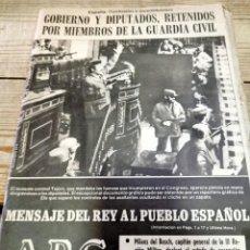 Coleccionismo de Los Domingos de ABC: ABC. 23 F. GOLPE DE ESTADO. 23-F. TEJERO. COMPLETO. 24 DE FEBRERO DE 1981. TRANSICIÓN POLÍTICA.. Lote 269360838