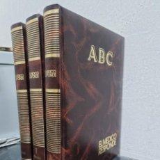 Colecionismo de Los Domingos de ABC: ABC EL MEDICO RESPONDE/3 TOMOS/. Lote 272336358