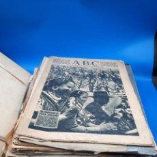 Colecionismo de Los Domingos de ABC: COLECCION DE ARTÍCULOS Y PERIÓDICOS ARCHIVADOS DE 1950 A 1963. Lote 275905853