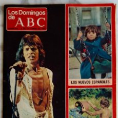 Coleccionismo de Los Domingos de ABC: LOS DOMINGOS DE ABC OCTUBRE 1981, ROLLING STONES. EL REGRESO DE SUS SATÁNICAS MAJESTADES. REVISTA. Lote 278204988