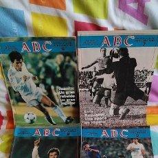 Coleccionismo de Los Domingos de ABC: 4 SUPLEMENTOS COLECCIONABLES DE LOS DOMINGOS DE ABC AÑO 1985. Lote 278846303