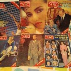 Coleccionismo de Los Domingos de ABC: LOTE 28 REVISTAS LOS DOMINGOS DE ABC AÑOS 1985 Y 1986. Lote 278846383