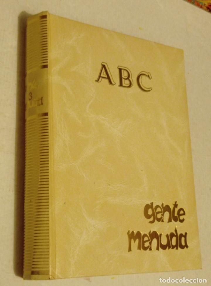 TOMO Nº 3 GENTE MENUDA: Nº 97 AL 144 SEMANARIO JUVENIL DE ABC . III EPOCA. AÑOS 91 - 92 (Coleccionismo - Revistas y Periódicos Modernos (a partir de 1.940) - Los Domingos de ABC)