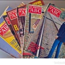 Coleccionismo de Los Domingos de ABC: LOTE DE 7 REVISTAS DE LOS DOMINGOS DE ABC. DE 1974 A 1984.. Lote 286615168
