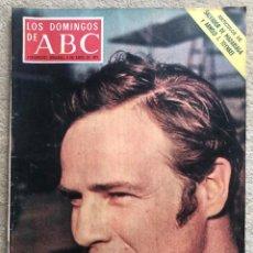 Coleccionismo de Los Domingos de ABC: REVISTA LOS DOMINGOS DE ABC (9 ABRIL 1972) - MARLON BRANDO - HECHICERO COSTA DE MARFIL. Lote 287867928