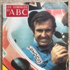 Coleccionismo de Los Domingos de ABC: REVISTA LOS DOMINGOS DE ABC (1 MAYO 1977) - AUTOMOVILISMO FORMULA 1 EN MADRID (CARLOS REUTEMANN). Lote 287868613