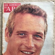 Coleccionismo de Los Domingos de ABC: REVISTA LOS DOMINGOS DE ABC (4 AGOSTO 1974) - PAUL NEWMAN - EL DESCENSO DEL SELLA (ASTURIAS). Lote 287869623