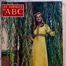 Coleccionismo de Los Domingos de ABC: LOS DOMINGOS DE ABC.SEPTIEMBRE 1969.GIRONELLA.CANDICE BERGEN.EL AMOR BRUJO.REVISTA. Lote 288501998