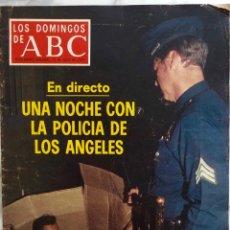 Coleccionismo de Los Domingos de ABC: LOS DOMINGOS DE ABC. JULIO 1977.POLICIA DE LOS ANGELES.FELIX RODRIGUEZ.SOLEDAD BCERRIL. REVISTA. Lote 288502768