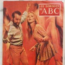 Coleccionismo de Los Domingos de ABC: LOS DOMINGOS DE ABC.MARZO 1970.GENERACION DEL EXTASIS.FERNAN GOMEZ EL EXTRAÑO VIAJE.O.ALONSO.REVISTA. Lote 288512568
