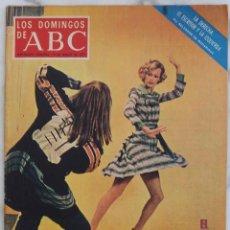 Coleccionismo de Los Domingos de ABC: LOS DOMINGOS DE ABC. MARZO 1973.MODELOS PUBLICITARIAS.GALLEGO FUTBOLISTA. REVISTA. Lote 288516478