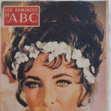 Coleccionismo de Los Domingos de ABC: LOS DOMINGOS DE ABC. NOVIEMBRE 1973. ELIZABETH TAYLOR.ALLENDE.JOSE PALMEIRO. REVISTA. Lote 288516913
