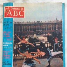 Coleccionismo de Los Domingos de ABC: LOS DOMINGOS DE ABC.FEBRERO 1969.SALVADOR DE MADARIAGA.J.MARIA GIRONELLA.YEHUDI MENUHIM.REVISTA. Lote 288528778