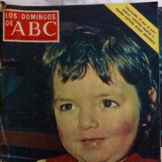 Coleccionismo de Los Domingos de ABC: LOS DOMINGOS DE ABC.FEBRERO 1976.LA HEIDI ESPAÑOLA.LOS DUQUES DE CADIZ.EMPRESARIOS TAURINOS.REVISTA. Lote 288602633