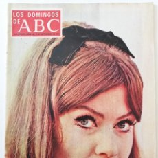 Coleccionismo de Los Domingos de ABC: REVISTA LOS DOMINGOS DE ABC MARISA MELL MINGOTE KIRAZ FRANCISCO GENTO REAL MADRID JET SET MARBELLA. Lote 288611703