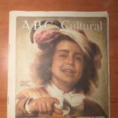 Coleccionismo de Los Domingos de ABC: ABC CULTURAL N°90 JULIO 1993 LA COLECCIÓN ABELLÓ, EXPUESTA AL PÚBLICO. YAKIR AHARONOV. Lote 289620768